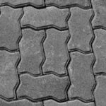 Grey Interlock Paver charcoal